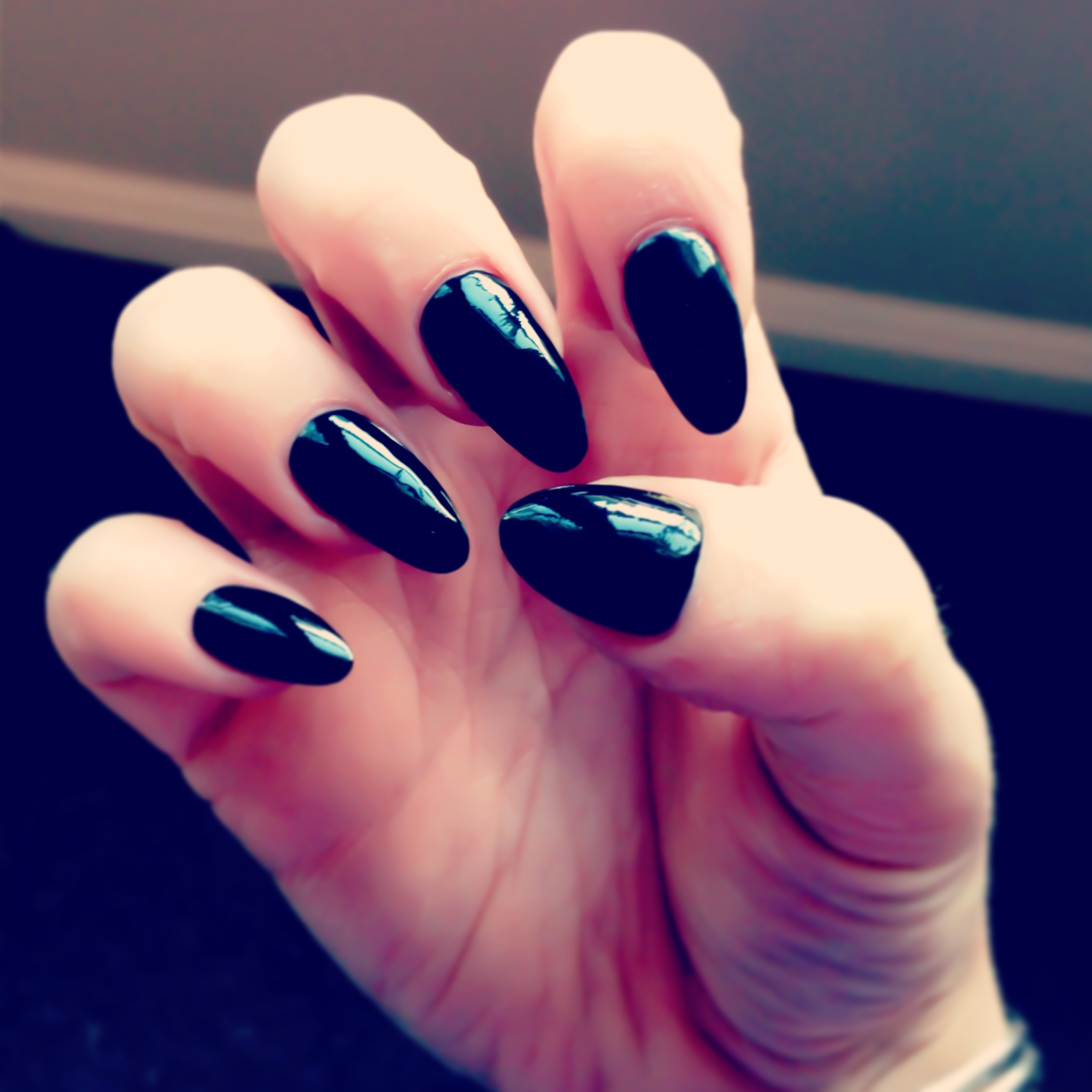 Pointed Acry... Pointy Nails Vs Square